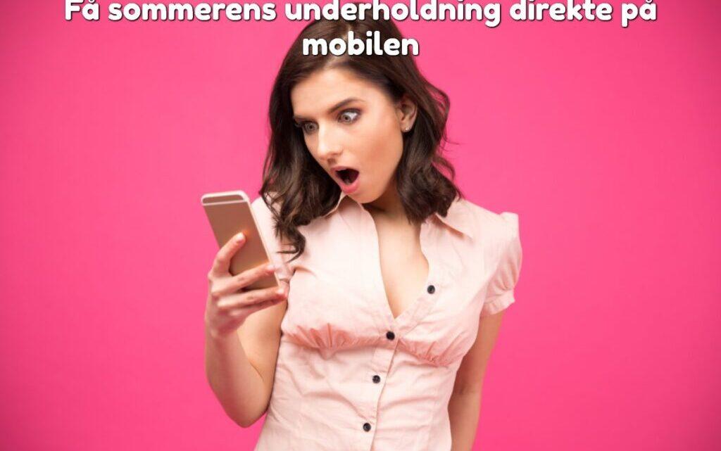 Få glade medarbejdere: Gi' dem underholdning direkte på mobilen